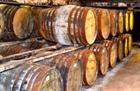 Bowmore whisky barrels