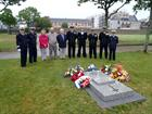 British and French sailors past and present pay their respects in Brest