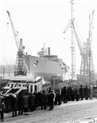 HMS Illustrious Launch - 14 December 1978