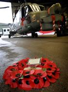 Wreath and Lynx Mark 8 from 815 NAS