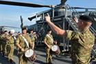 Members of Royal Marines Band Service
