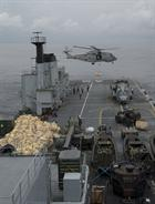 Merlin lifting from RFA Argus