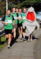 829 NAS runners around Culdrose