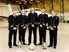 The latest course of Royal Naval Observers has passed fit for duty from 750 Naval Air Squadron at Ro
