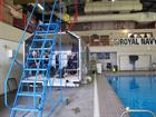 John Bentley School Students visiting the Underwater Escape Training Unit