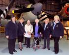 WRNS pictured from left to right is Cate Whitewood, Lisa Snowdon, Marie Salt, Jeanne Wills, Shirley