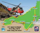 West Cornwall Flypast route