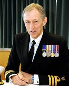 Commander Ian Fitter Executive Commander of RNAS Culdrose