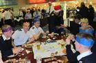 RNAS Culdrose Junior Rates Christmas dinner