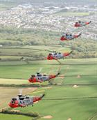 771 NAS Flypast of West Cornwall