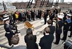 The supersession of the First Sea Lord on board HMS Victory