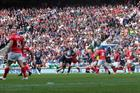A crowd of over 80,000 at Twickenham