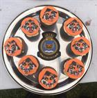 Flying Tiger Cup Cakes for International Tiger Day At RNAS Culdrose