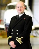 Lt Cdr Chris Newby CO 750 NAS