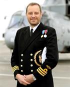 Commander Ian Fraser CO 824 NAS