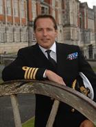 Captain Jolyon Woodard, the new Commanding Officer of Britannia Royal Naval College.