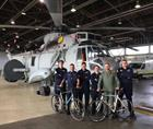 849 NAS Team ready for the Off