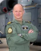 Lt Cdr Jamieson Stride Commanding Officer of 815 Naval Air Squadron