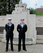 Air Engineers  Godden and Phillips of 702 NAS