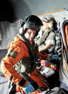 Sgt Tony Russell RM at work in his Search and Rescue role