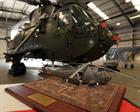 Model of  Sea King Mk4 in Afghanistan