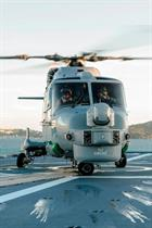 217 Flt Lynx on the deck