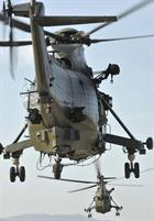 CHF Sea King on Exercise Albanian Lion