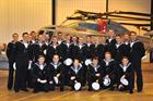 The  newly qualified Air Engineering Technicians