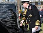 1SL Sir Mark Stanhope unveils Channel Dash memorial Dover