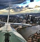 Swordfish over London picture by Lieutenant Commander Andy Thompson