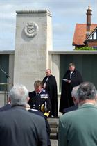 TAGA at  FAA memorial at Lee-on-the-Solent