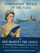 Spithead Review programme cover 1953